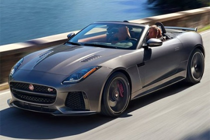 Jaguar F-Type Cabrio 3,0 l V6 Kompresor 340 k AT F-TYPE R-DYNAMIC