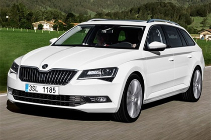 Škoda Superb Combi 2.0 TDI/110 kW Active
